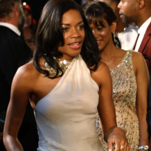 Naomie Harris wears Monica Vinader Diamond Pave Stacking Rings to the Premiere of Mandela: Long Walk To Freedom, November 3rd 2013.