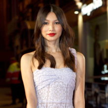 Gemma Chan in Monica Vinader Riva and Skinny Collection Jack Ryan Premiere