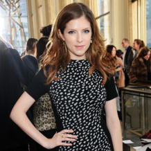 Anna Kendrick in Atlantis at Tory Burch New York Fashion Week AW14