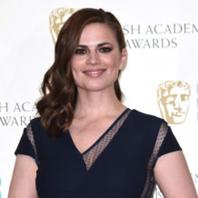 Hayley Atwell in Diva Cocktail Ring