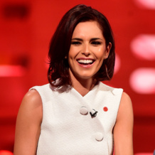 Cheryl Fernandez Versini wears Monica Vinader Diva Kiss Bracelet, Diva Cocktail Ring and Diva Circle Ring on The Graham Norton Show.