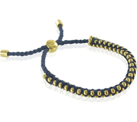 GP Rio Bracelet - Navy - Courage - Monica Vinader
