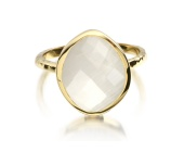 Gp Nugget Ring Small- Moonstone - Monica Vinader
