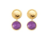Mini Luna Stud Earring - Monica Vinader
