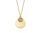 Ava Teardrop Charm Necklace - Monica Vinader