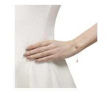 Rose Gold Vermeil Mini Siren Fine Chain Bracelet W/adjuster - Labradorite - Monica Vinader