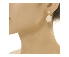 GP Siren Medium Drop Earrings - Moonstone - Monica Vinader