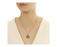 Rose Gold Vermeil Large Siren Pendant - Monica Vinader