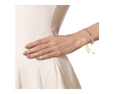 Fiji Friendship Bracelet - Fluro Yellow - Monica Vinader