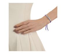 Esencia Friendship Bracelet - Amethyst - Plum - Monica Vinader