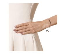 Rose Gold Vermeil Fiji Pave Bracelet - Black - Spinel - Monica Vinader