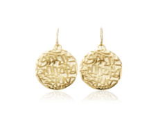 Gold Vermeil Atlantis Earrings - Monica Vinader