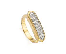 Gold Vermeil Baja Ring - Monica Vinader