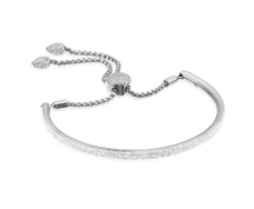 Fiji Full Pave Bracelet - Diamond - Monica Vinader