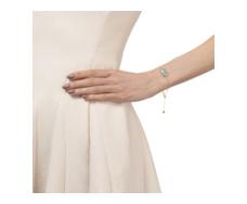 Gold Vermeil Capri Chain Bracelet - Aquamarine - Monica Vinader