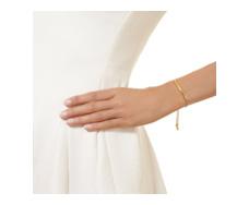 Gold Vermeil Esencia Chain Bracelet - Monica Vinader