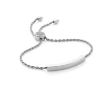 Linear Pave Toggle Bracelet - Diamonds