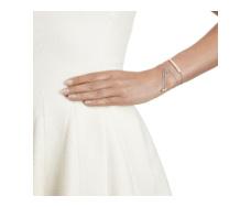 Linear Diamond Toggle Chain Bracelet Model