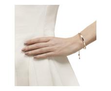 Rose Gold Vermeil Fiji Friendship Petite Chain Bracelet Model
