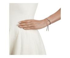Linear Friendship Bracelet - Mink Cord model