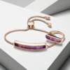 Rose Gold Vermeil Baja Ring - Purple Quartz Still Life