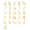 Gold Vermeil Alphabet Pendant B - Monica Vinader