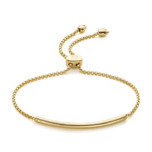 Gold Vermeil Esencia Mini Chain Bracelet - Monica Vinader