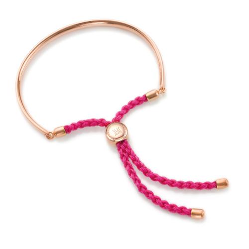 Rose Gold Vermeil Fiji Friendship Petite Bracelet - Cerise